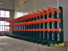 Powder Coating Finish Cantilever Racking System Warehouse V