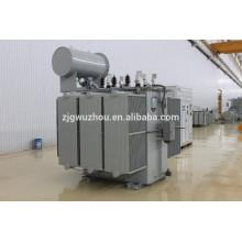ZS serie 4500 ~ 8000kva aceite tipo transformador rectificador de voltaje