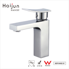 Haijun Cheap 0.1~1.6MPa Deck Mounted Single Handle Bathroom Basin Faucet