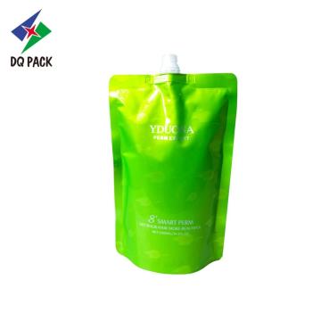 Sac d'emballage personnalisé pour produits chimiques avec bec verseur