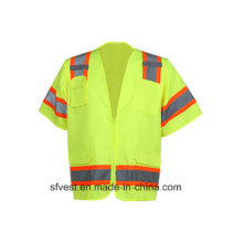 ANSI Standard High Visibility Safety Mesh Vest Customized
