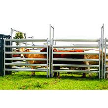 Chine Panneaux de clôture en acier au carbone portatifs bon marché de clôturage de bétail de barrière de vache facile à assembler facilement