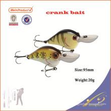CKL020 новые рыболовные снасти небольшой жесткого пластика кривошипно приманки рыболовные приманки