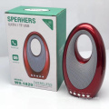 Original WSTER WS1829 Support USB TF CARD FM RADIO Mini Digital Portable Wireless Speaker