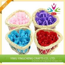Neueste Blume Herz Seife/natürliche Seife für Werbung Geschenke