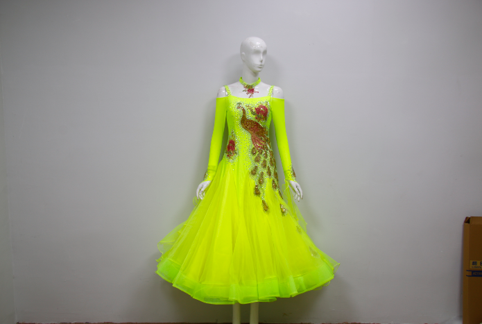 Yellow Ballroom Dresses For Sale Uk