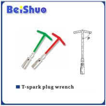 Пластмассовая ручка T-Spark Plug ключ для колес автомобиля