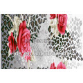 3D polyester print fabric for bedding