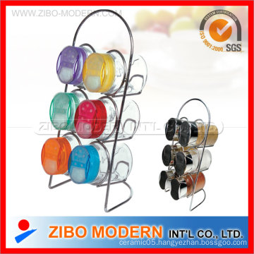 6PCS Set Glassware with Stand