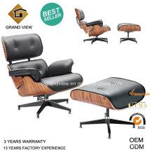 Design eames cadeira de salão couro (GV-EA670)