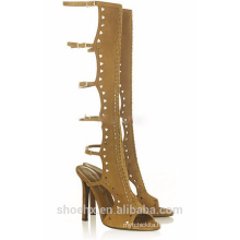 causal style high heel sandals boots sandals