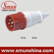 16 / 32A 380V 4pin Enchufe eléctrico y zócalo