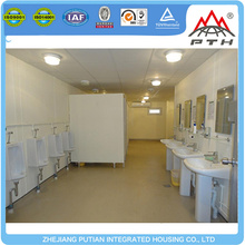 Customized EPS sandwich panel modular prefabricated container bathroom house for sale