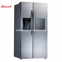 Home Side Double Door Refrigerator With R600a Refrigerant