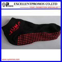 2015 promocionais moda esportes anti-deslizante meias (EP-S58401)