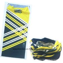OEM Produce Custom Design Impreso Promocional Microfibra Deportes Elásticos Seamless Tubo Magic Buff Headwear