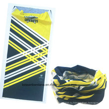 OEM производят заказной дизайн печатных рекламных Microfiber Упругие спорта Бесшовные трубки Magic Buff Headwear