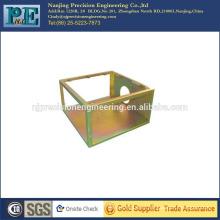 Estampación de la fabricación de chapa de latón, piezas de fabricación de soldadura, piezas de plegado