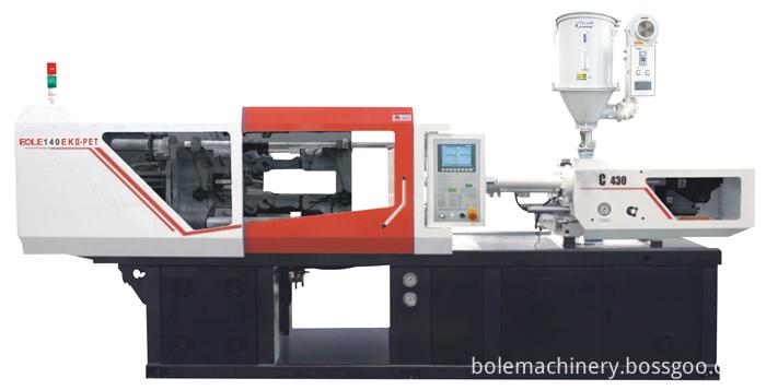 PET inject mold machine