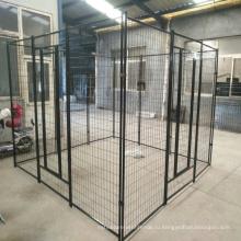 Оцинкованная сталь портативный большой открытый временный забор собака