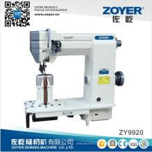 Zy9920 doble aguja poste cama doble pespunte coser maquinaria