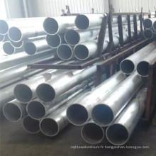 Tuyau en aluminium H14 H24 Temper 1100