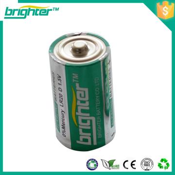 2016 produits les plus vendus r20 batterie sèche D Taille 1.5v um1 batterie alcaline