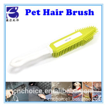 plastic tpr dog hair cleaning brush