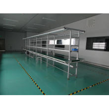 PVC Belt Conveyor Line with Long Working Bench