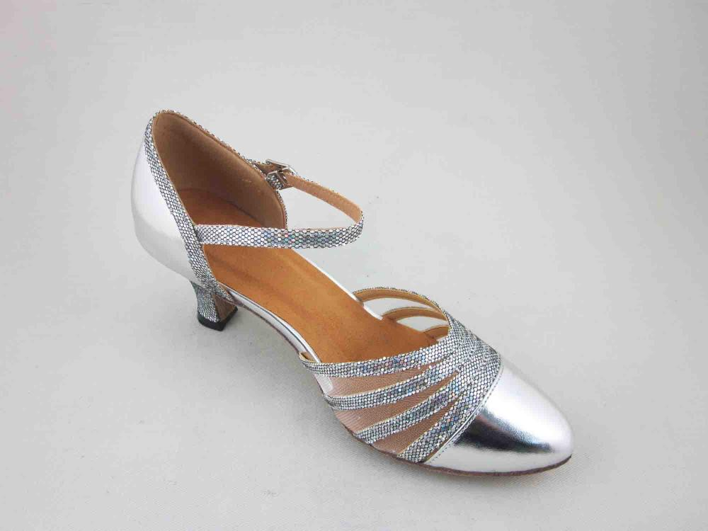 Ballroom Silver Dance Shoes 3 5 Inch Heel