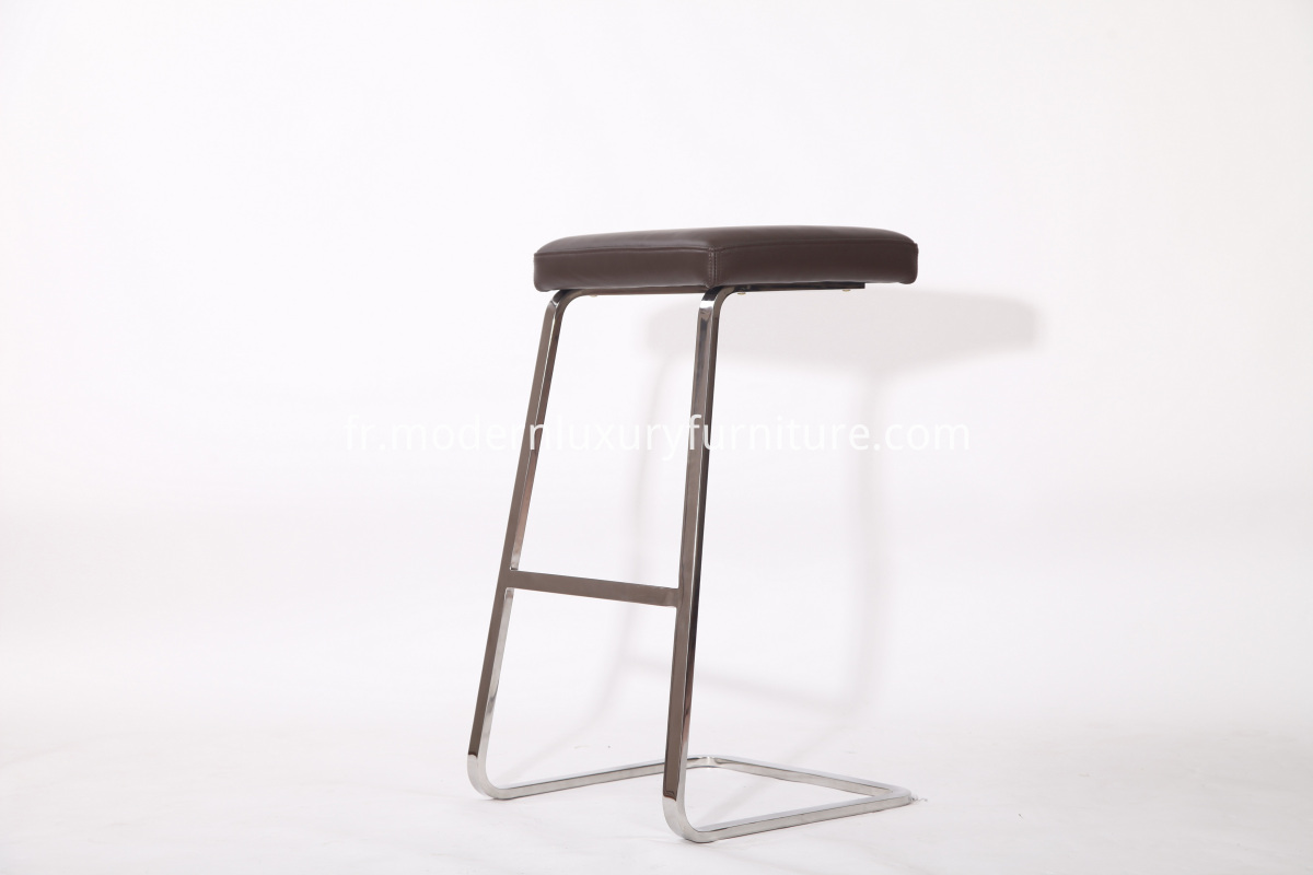 304 Stainless Steel Ergonomic Barstool