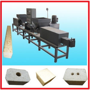 Two Outlet Wood Block Machine
