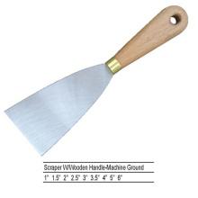 Espejo de acero inoxidable de Sjsl40 Raspador de madera barato pulido