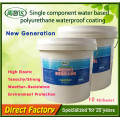 Material de telhado impermeável do único poliuretano líquido componente