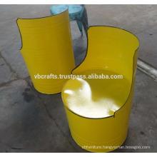 Barrel Chair Industrial Metal Furniture
