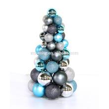 arvores de natal decoradas com metal de mesa à venda