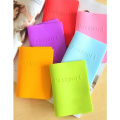 Colorful Case Silicone Protective Passport Cover