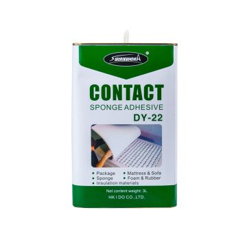 China Best Glue Factory Sprayidea DY-22 3L Package Barrel Leather Liquid Glue Adhesive