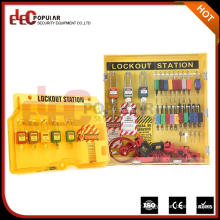Elecpopular Hot Sale Lockout Tagout Station Padlock Station With Accessories