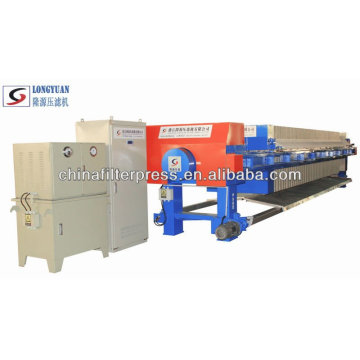 Relay Controlled Automatic Recessed Chamber Filter Press Price