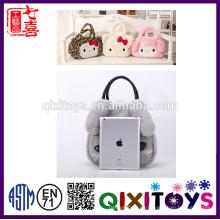 Nette Plüsch-Verpackungs-Taschen-Kaninchen-Einkaufskorb-Taschen-Plüsch-Tasche für Frau