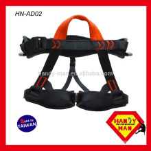HN-AD02 Adult Customized Mountaineering Rock Climbing Safety Made in Taiwan Waist Harness