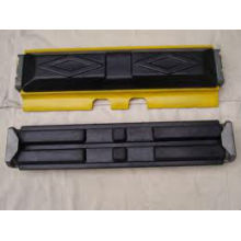 abrasion resistance custom rubber track pad