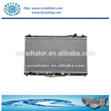 Cooling system aluminum auto radiator for Toyota camry