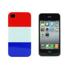Französische Flagge Hard Cover für iPhone 1
