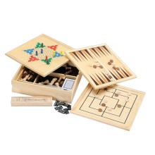 Juego de mesa de ajedrez de madera (CB2466)