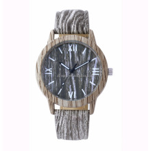 Wooden Color case and band Watch