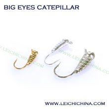Winter Is Coming Tungsten Ice Jig Big Eyes Catepillar