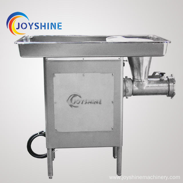 manual stainless steel electric meat mincer machine