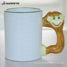 Sunmeta 11oz Sublimation Animal Handle Mug At Low Price Wholsale